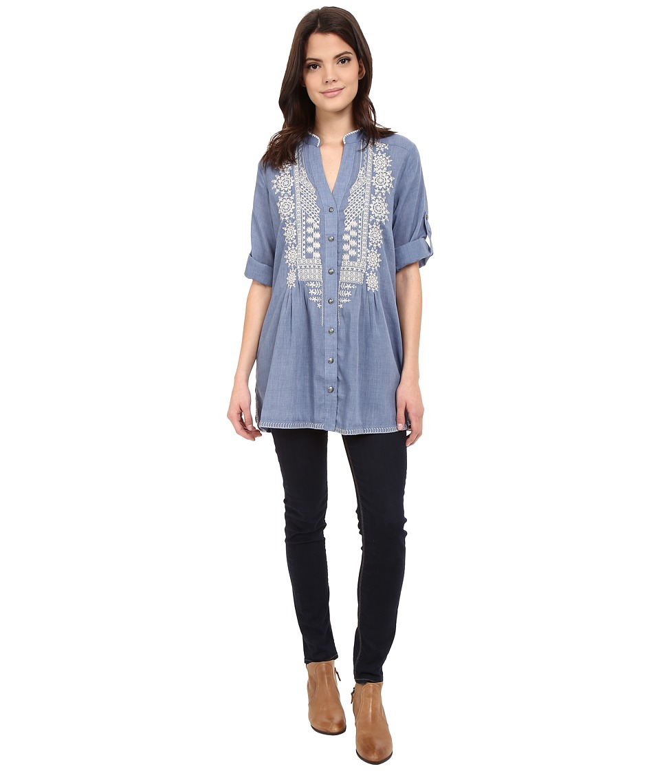 Tasha Polizzi - Adelaide Shirt (Chambray 2) Women's Clothing