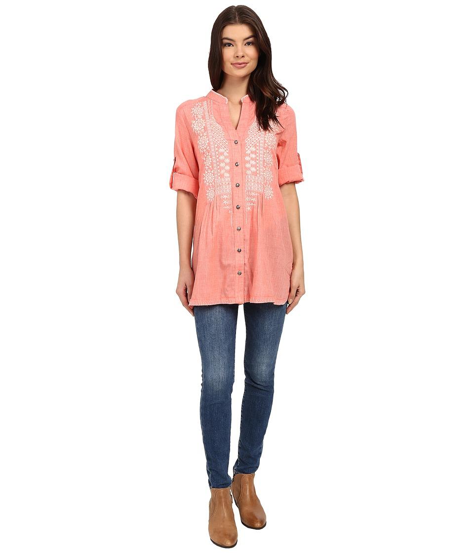 Tasha Polizzi - Adelaide Shirt (Coral) Women's Clothing
