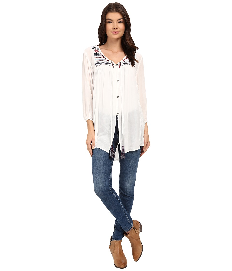 Tasha Polizzi - Parade Shirt (Ivory) Women's Clothing