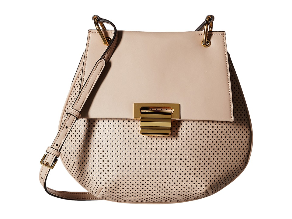Ivanka Trump - Turner Pancake Crossbody (Buff) Cross Body Handbags