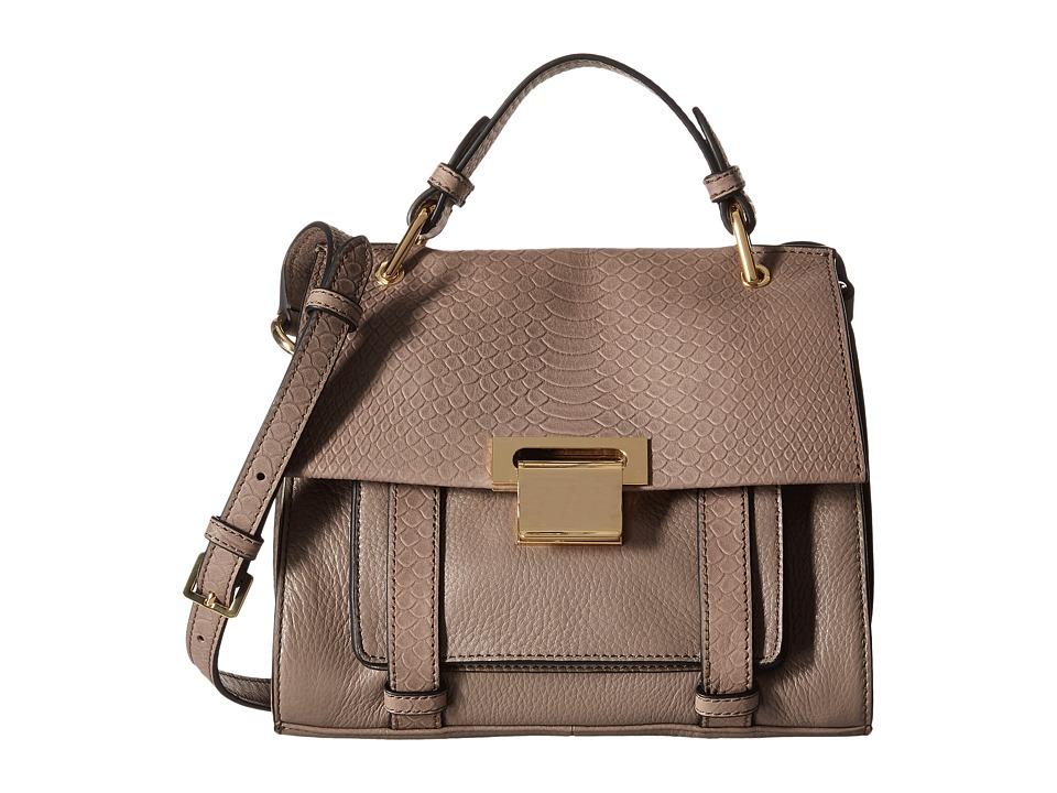 Ivanka Trump - Turner Mini Satchel (Pale Taupe) Satchel Handbags