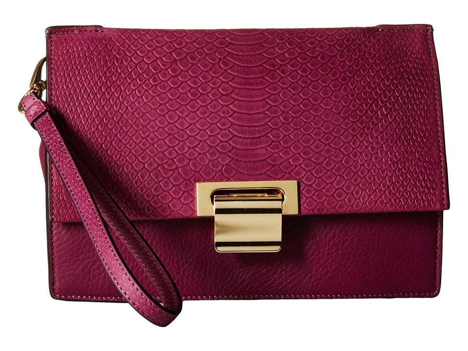 Ivanka Trump - Turner Wristlet Organizer (Berry) Wristlet Handbags