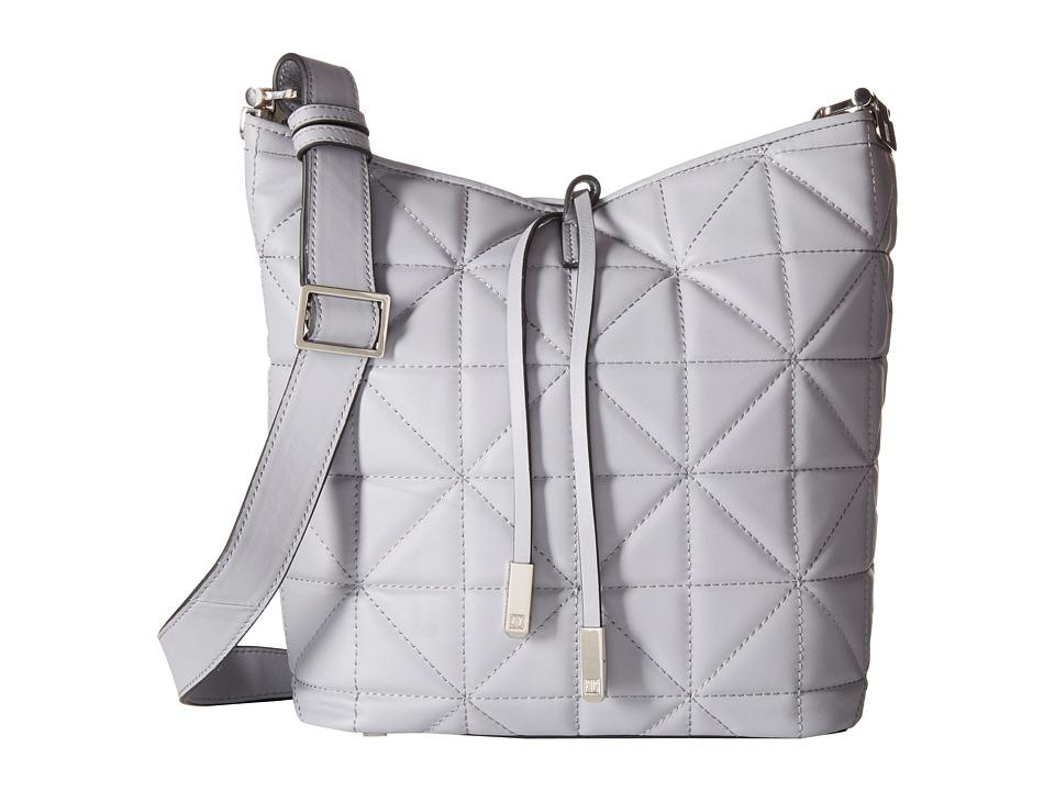 Ivanka Trump - Briarcliff Large Bucket (Cement) Cross Body Handbags