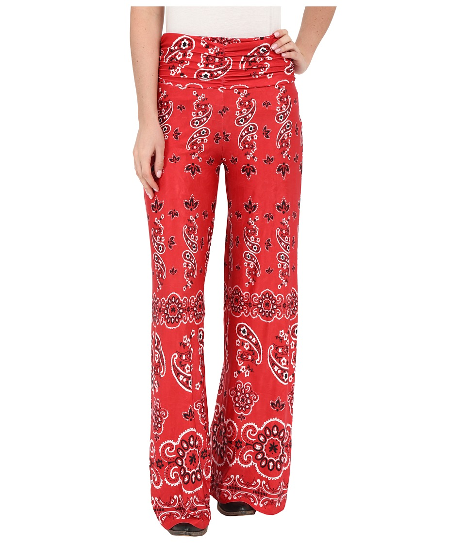 Tasha Polizzi - Bandana Pants (Red) Women's Casual Pants