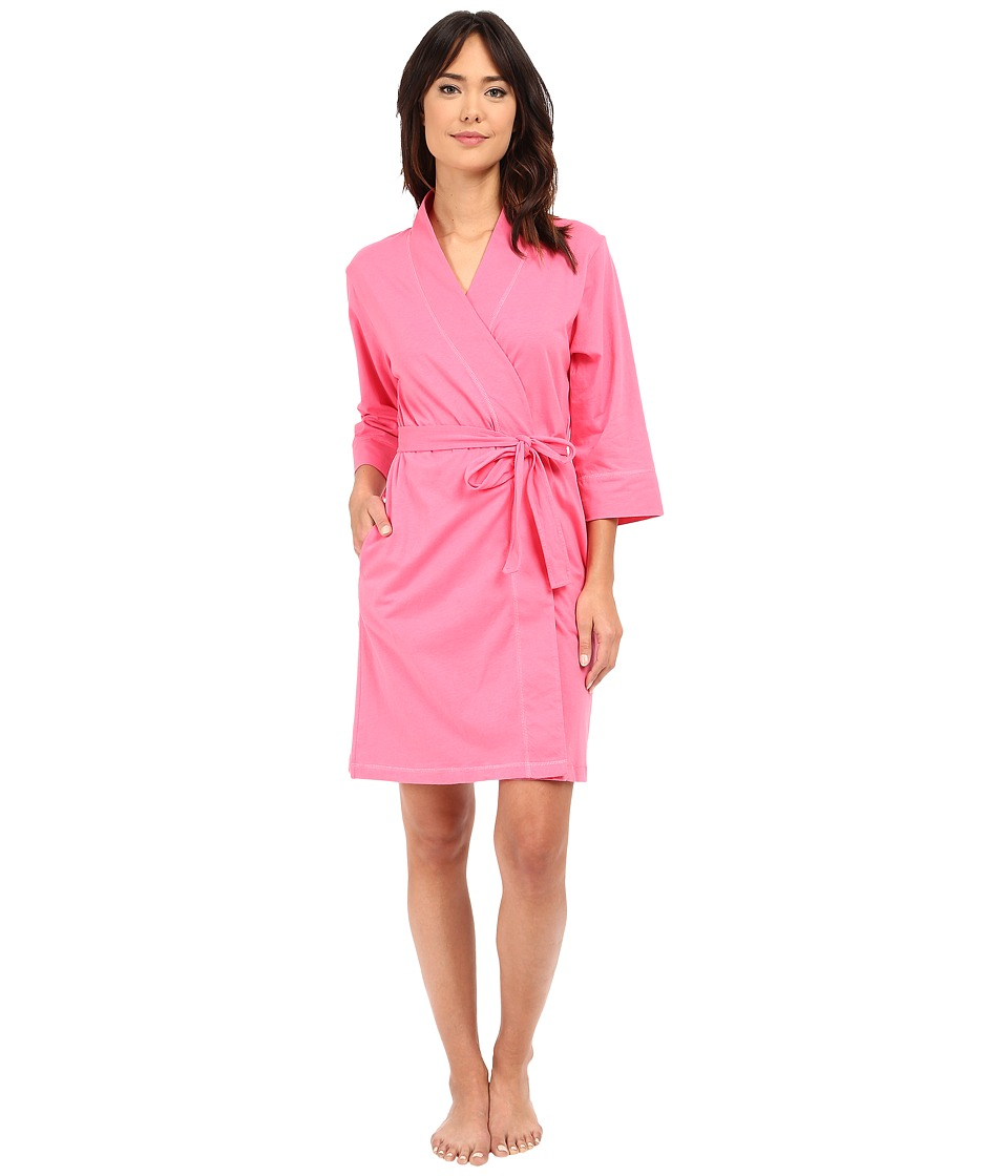 Jockey - Jockey Cotton Essentials Robe (Coral) Women's Robe