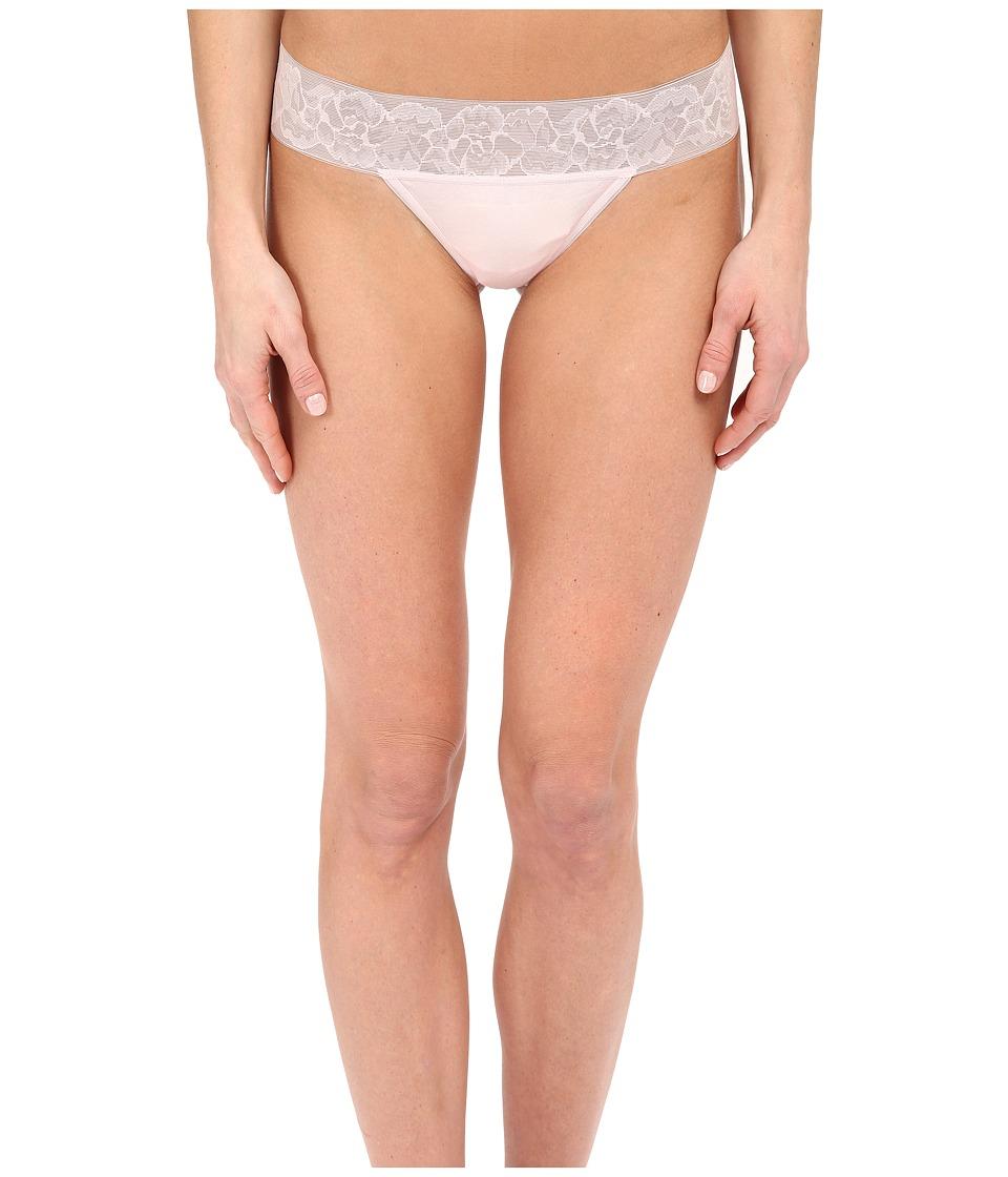 OnGossamer - Cabana Cotton Breeze Thong 022853 (Rose Quartz) Women's Underwear