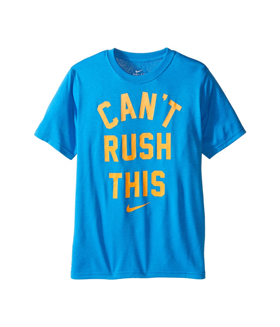 Nike Kids - Leg Sport Verbiage 3 Tee (Little Kids/Big Kids) (Photo Blue) Boy's T Shirt