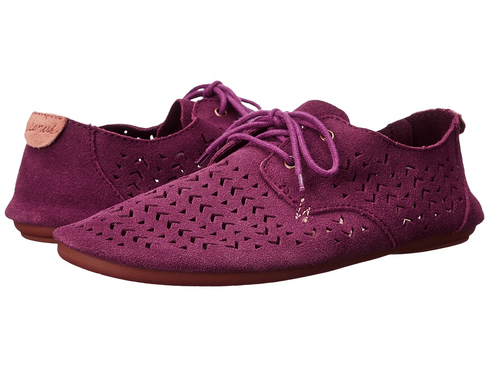 Sanuk - Bianca Perf (Dusty Boysenberry) Women's Slip on Shoes