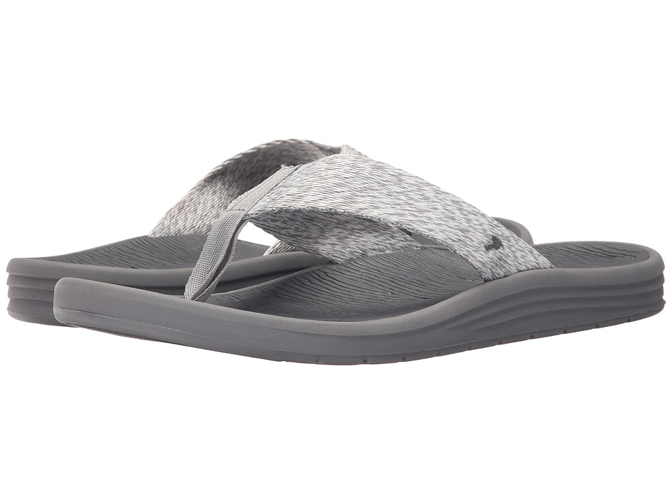 Sanuk - Compass Webbing (Grey/Charcoal) Men's Sandals