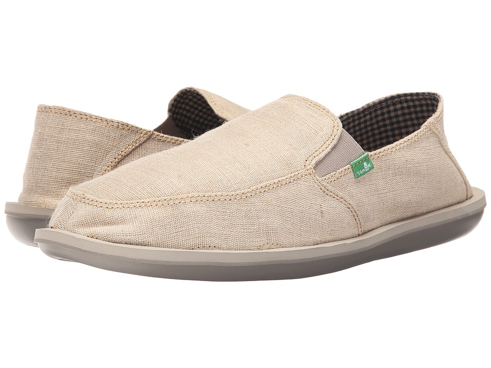 Sanuk - Vice (Natural Vintage) Men's Slip on Shoes