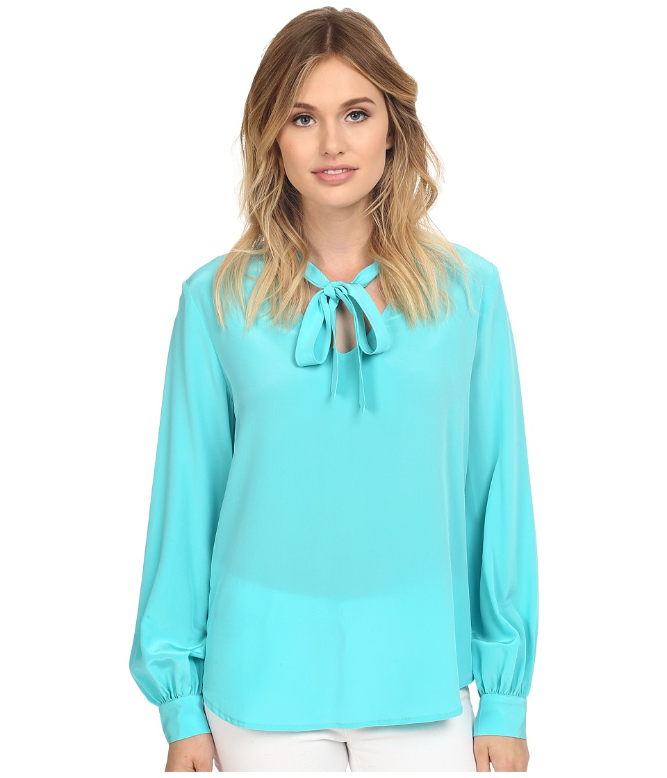 Trina Turk - Dawson Top (Azure) Women's Clothing