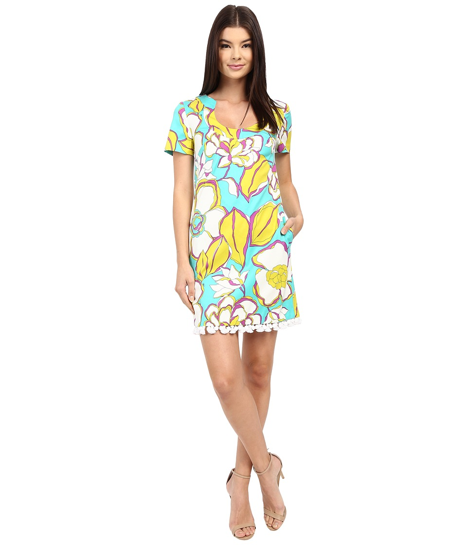 Trina Turk - Musita Dress (Azure) Women's Dress