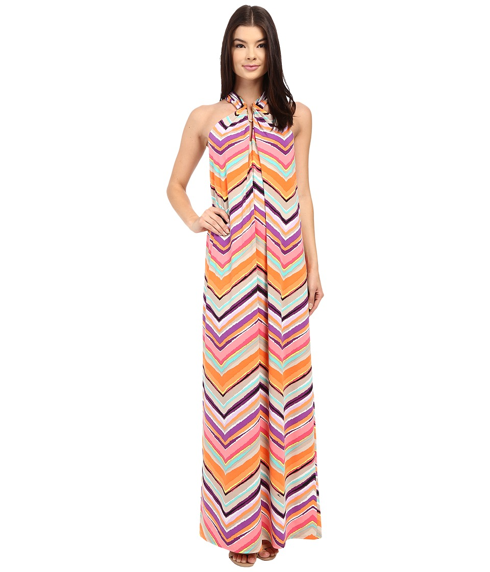 Trina Turk Rilee Maxi Dress (Multi) Women