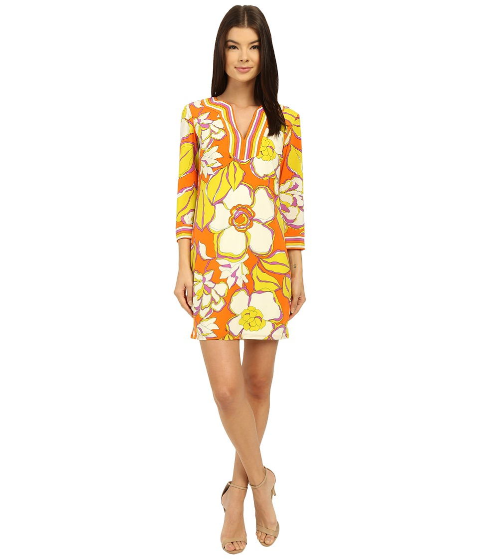 Trina Turk Shanta Dress (Kumquat) Women