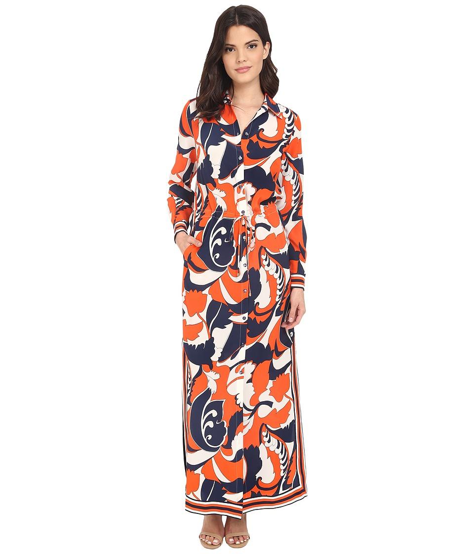 Trina Turk Ryler 2 Dress (Coral) Women