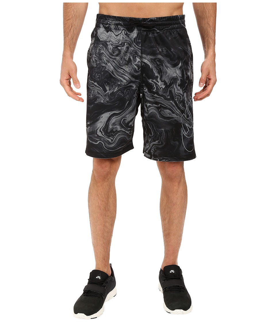 Nike SB - SB Dri-FIT Swirl Sunday Shorts (Black/Cool Grey) Men's Shorts
