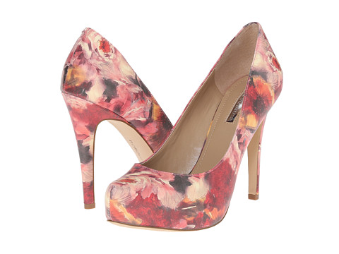 BCBGeneration - Parade (Washed Floral Patent) High Heels