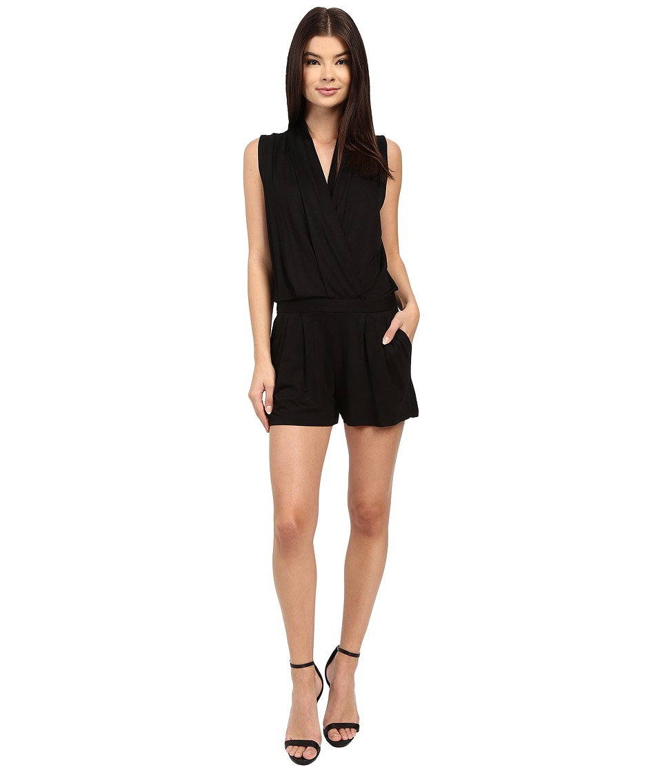 Trina Turk - Giselle Romper (Black) Women's Jumpsuit & Rompers One Piece