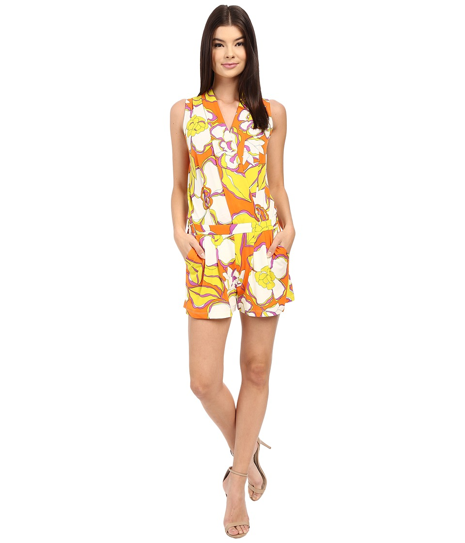 Trina Turk - Giselle Romper (Kumquat) Women's Jumpsuit & Rompers One Piece