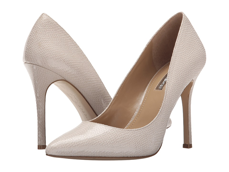 BCBGeneration - Treasure (White Smooth Snake) High Heels
