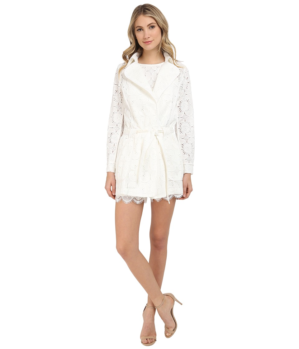 Trina Turk - Monet Jacket (Whitewash) Women's Coat
