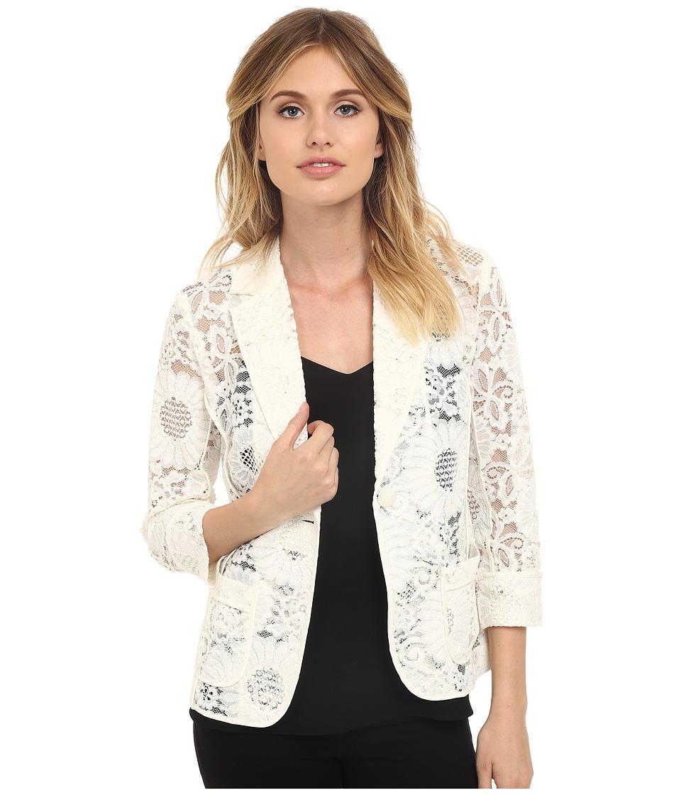Trina Turk - Alvah Jacket (Whitewash) Women's Jacket