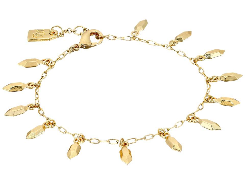 LAUREN Ralph Lauren - Golden Opulence Metal Nugget Charm Bracelet (Gold) Bracelet