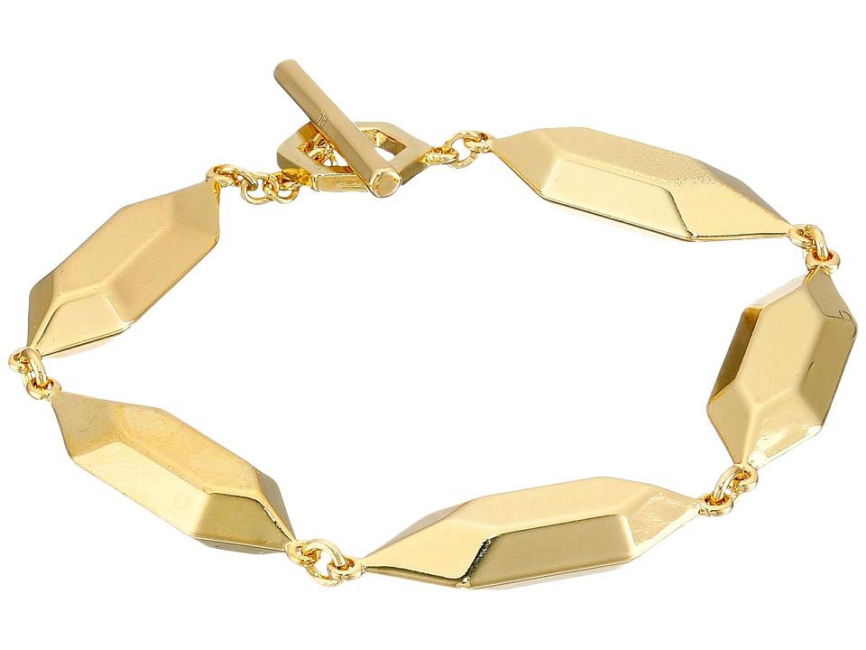 LAUREN Ralph Lauren - Golden Opulence Large Metal Nugget Bracelet (Gold) Bracelet