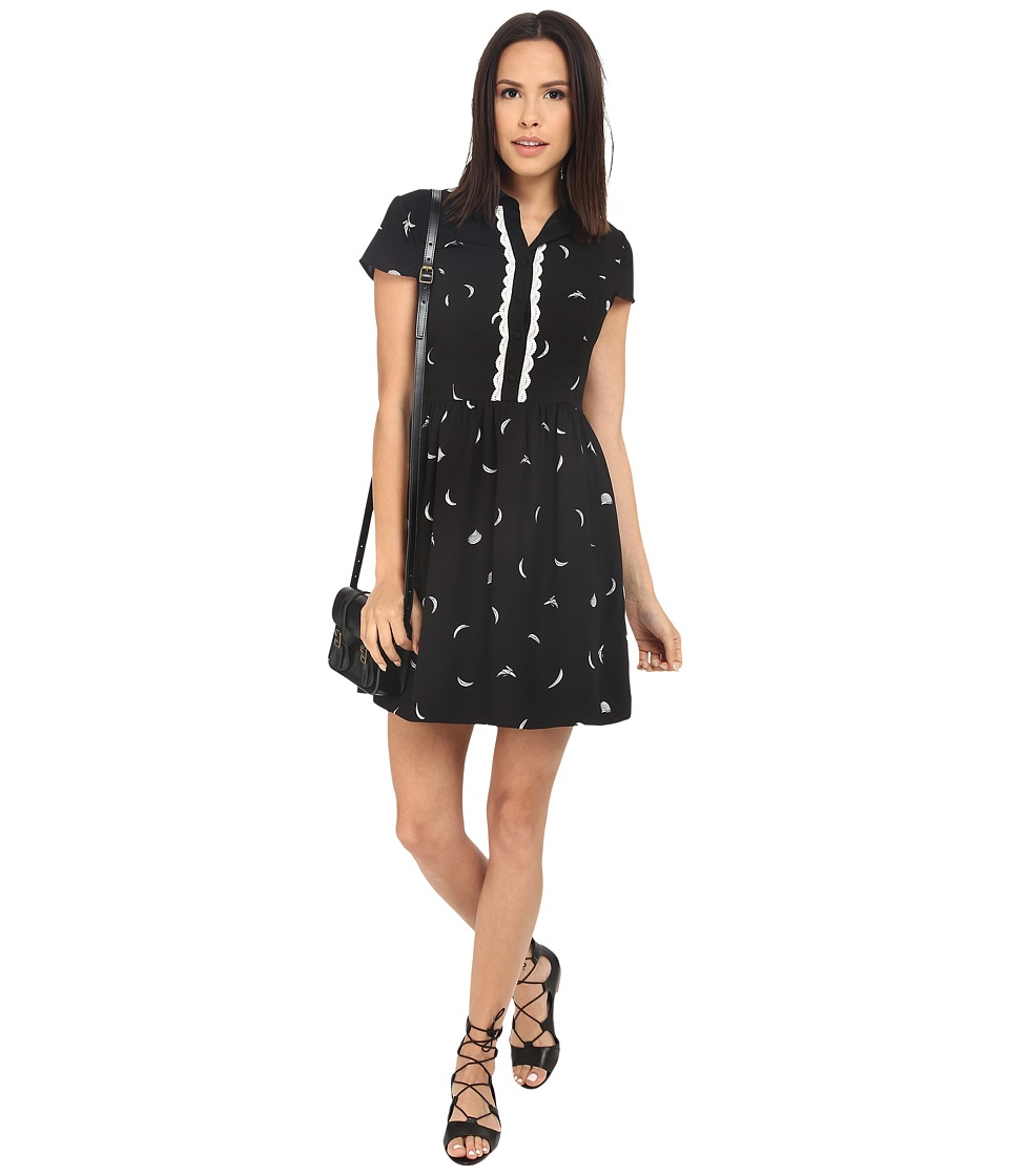 kensie - Mini Bananas Dress KS2K7851 (Black Combo) Women's Dress