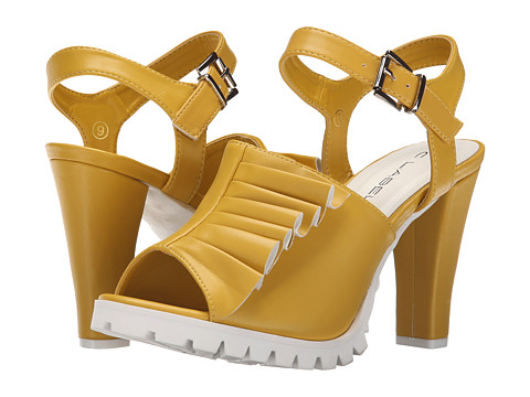 C Label - Binky-11 (Yellow) High Heels