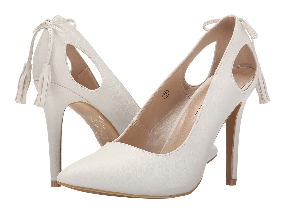 C Label - Liberty-19 (White) High Heels