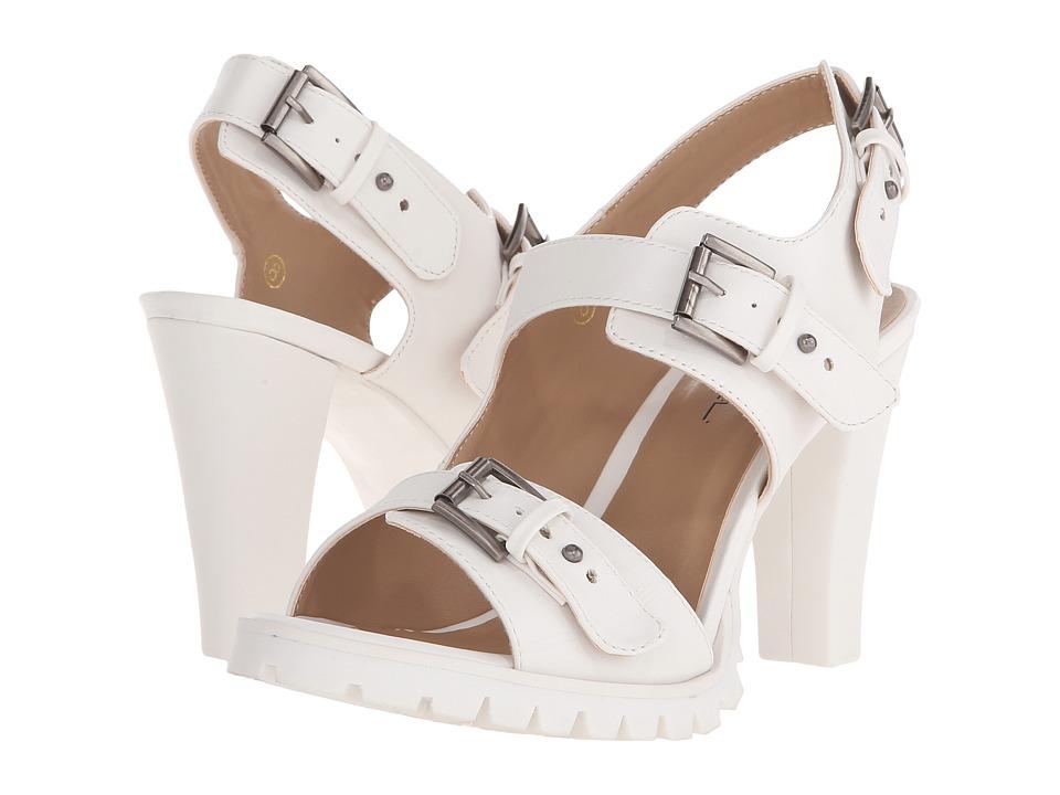 C Label - Binky-7 (White) High Heels