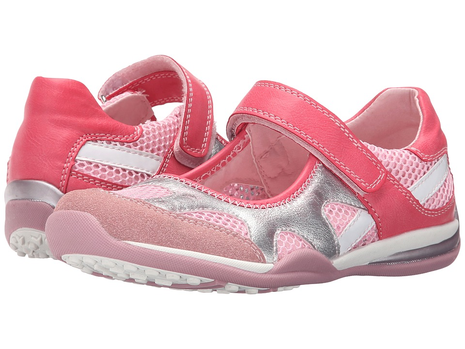 Beeko - Sadie II (Little Kid/Big Kid) (Pink) Girl's Shoes