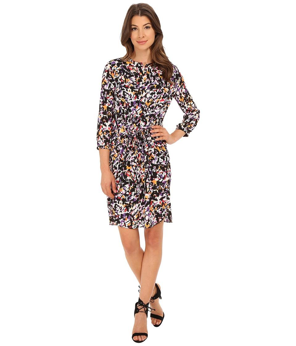 NYDJ - Lauren PLeat Back Dress (Paint Splash) Women's Dress
