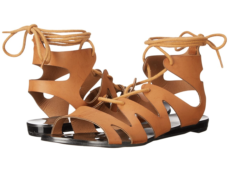 C Label - Flatty-14 (Cognac) Women's Sandals