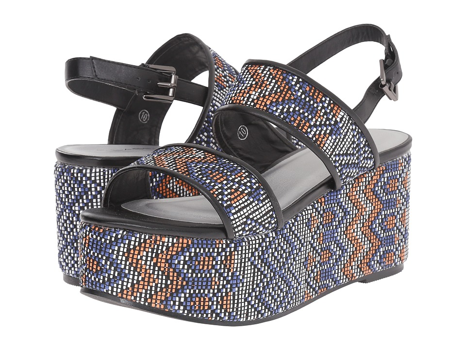 C Label - Dashia-11 (Blue) Women's Sandals