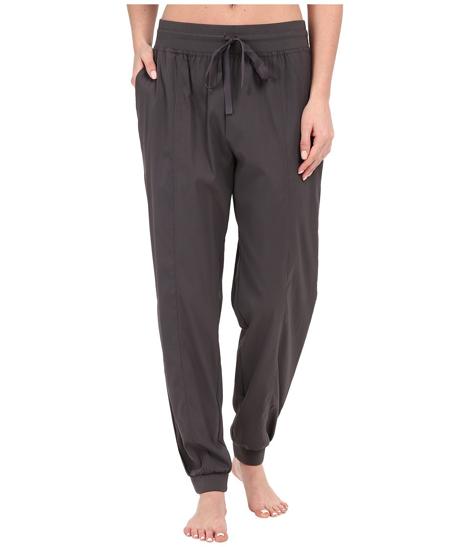 Midnight by Carole Hochman - Lounge Woven Jogger Pants (Dim Grey) Women's Pajama
