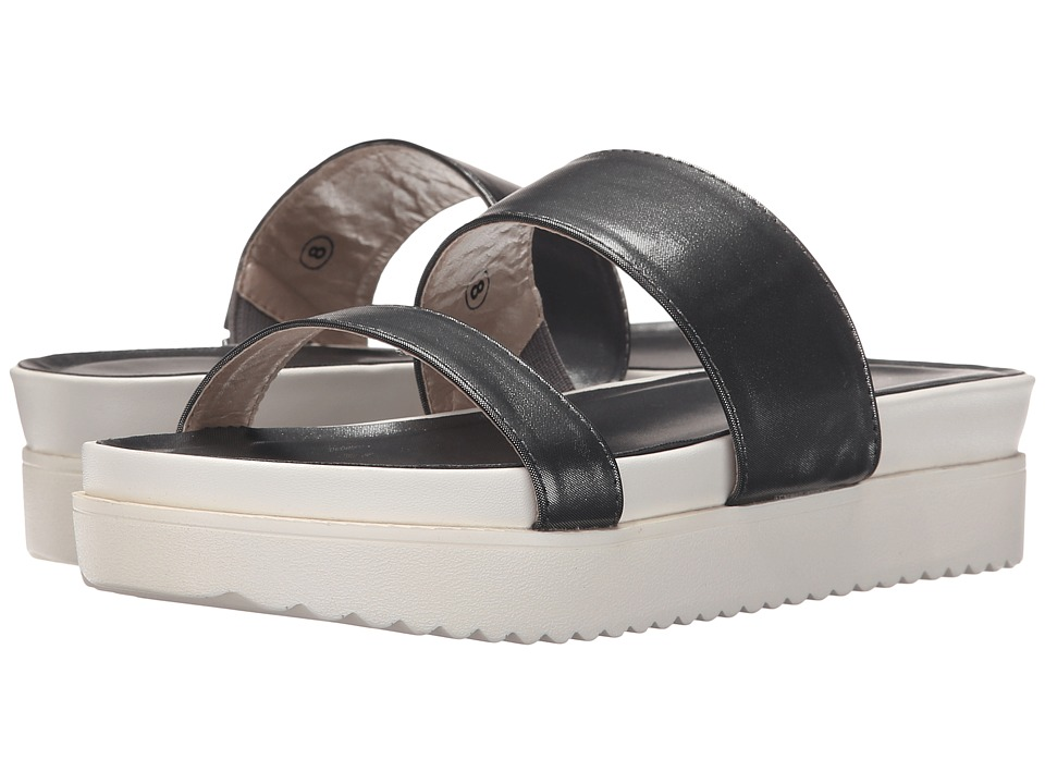 C Label - Elinor-10 (Pewter) Women's Slide Shoes