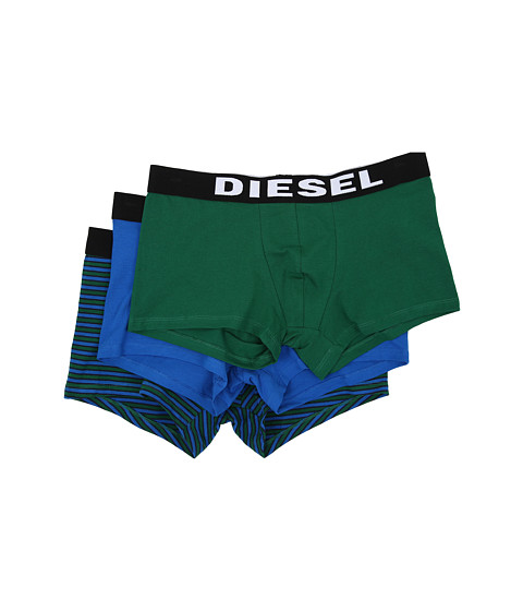 Diesel - Shawn 3-Pack Boxer AALJ (Green/Blue) Men's Underwear