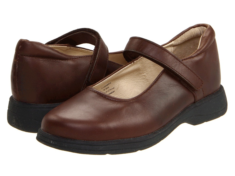 School Issue - Prodigy (Adult) (Brown) Girls Shoes