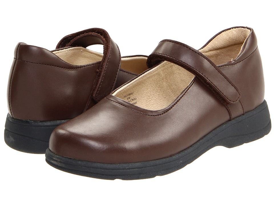 School Issue - Prodigy (Toddler/Little Kid/Big Kid) (Brown) Girls Shoes