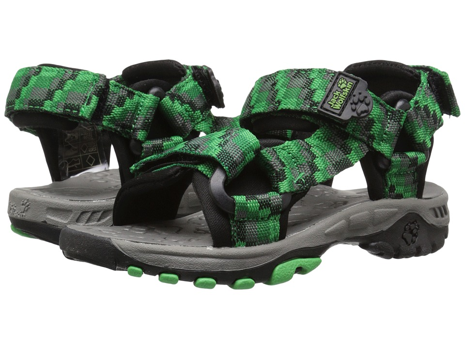 Jack Wolfskin Kids - Seven Seas (Toddler/Little Kid/Big Kid) (Cucumber Green) Boy's Shoes