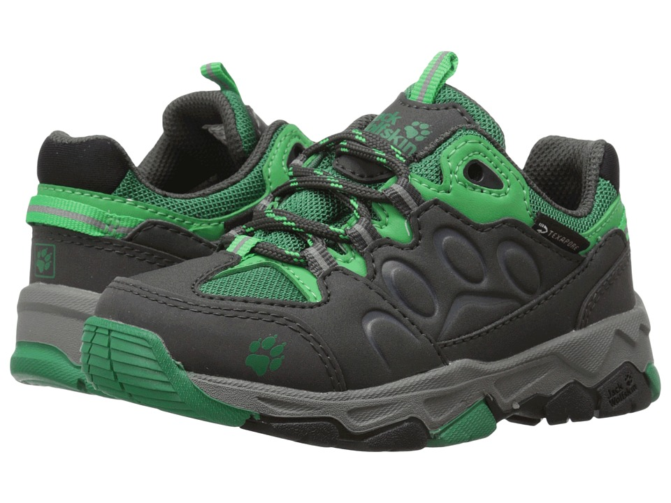 Jack Wolfskin Kids - Mountain Attack 2 Waterproof (Toddler/Little Kid/Big Kid) (Cucumber Green) Boys Shoes