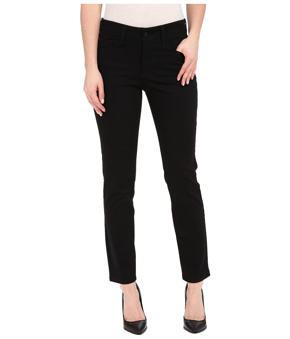 NYDJ - Clarissa Skinny Ankle Fine Line Twill (Black) Women's Jeans