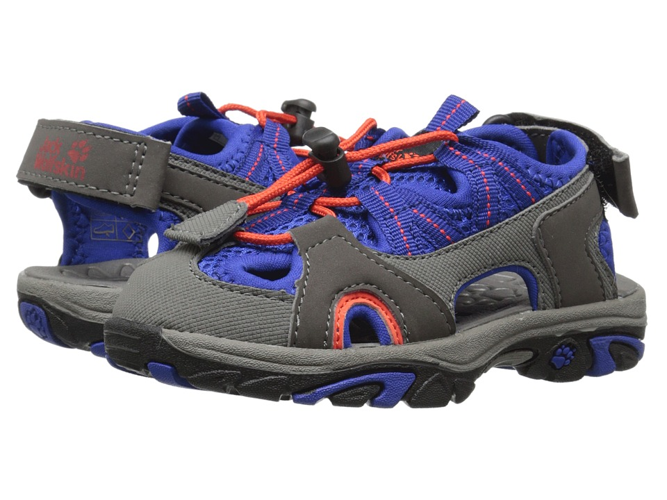 Jack Wolfskin Kids - Lakewood Cross Sandal (Toddler/Little Kid/Big Kid) (Active Blue) Boys Shoes