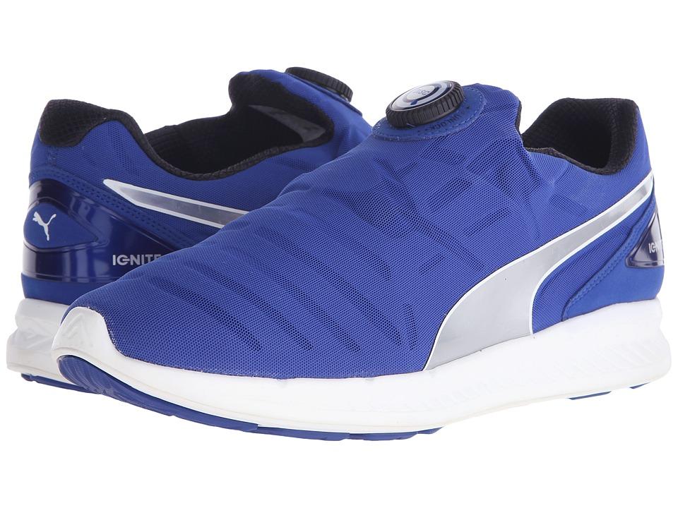 PUMA - Ignite Disc (Surf The Web/Puma Silver) Men's Shoes
