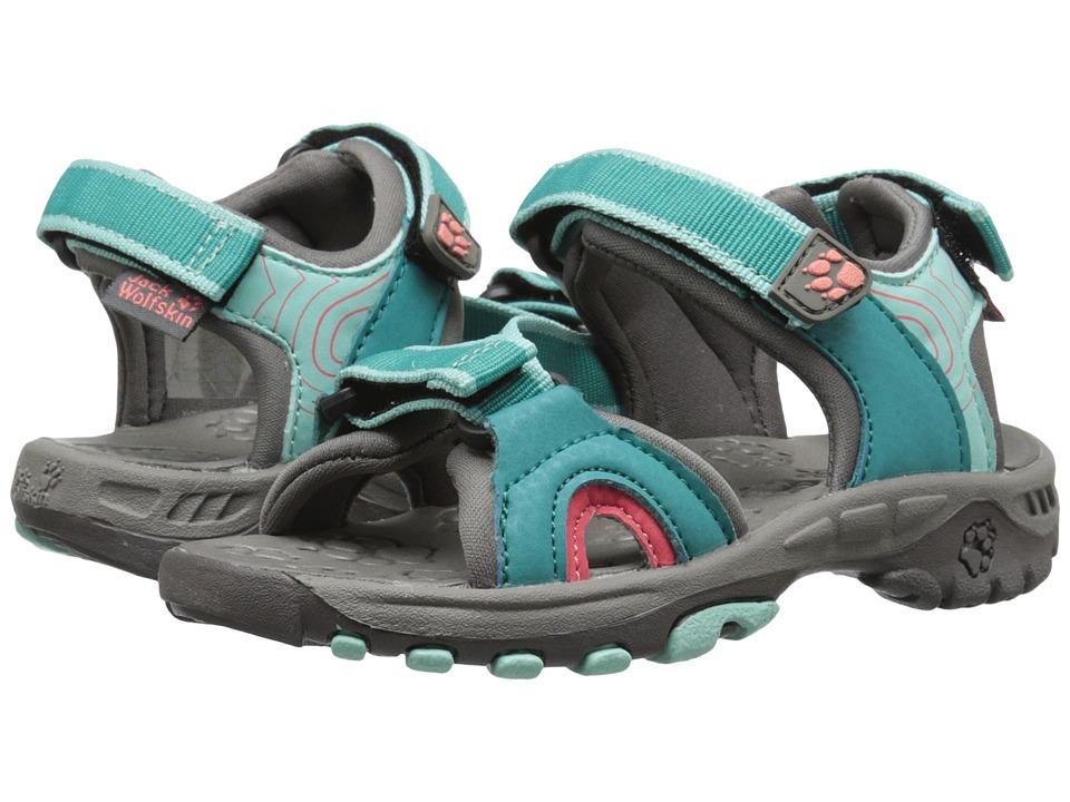 Jack Wolfskin Kids - Lakewood Ride Sandal (Toddler/Little Kid/Big Kid) (Pool Blue) Girls Shoes