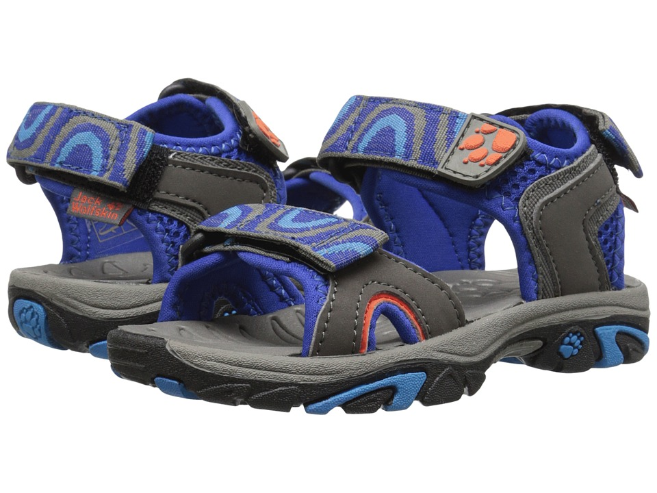 Jack Wolfskin Kids - Lakewood Ride Sandal (Toddler/Little Kid/Big Kid) (Active Blue) Boys Shoes