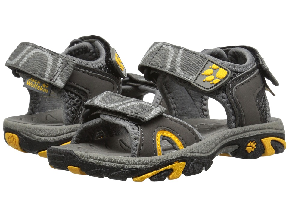 Jack Wolfskin Kids - Lakewood Ride Sandal (Toddler/Little Kid/Big Kid) (Burly Yellow) Boys Shoes