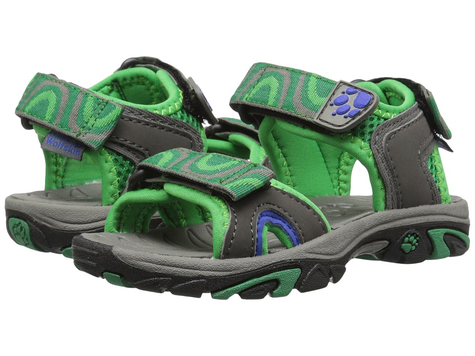 Jack Wolfskin Kids - Lakewood Ride Sandal (Toddler/Little Kid/Big Kid) (Seagrass) Boys Shoes